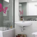 10-baie moderna cu faianta tip mozaic din sticla placi mici dreptunghiulare