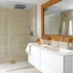 10-baie moderna minimalista cu peretii si pardoseala placate cu acelasi tip de gresie