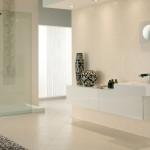 10-baie moderna minimalista finisata in bej deschis