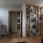 10-biblioteca dormitor casa mica 62 mp demisol si parter inalt