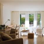 10-birou amenajat in living casa amenajata in stil clasic