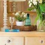 10-comoda din lemn aspect vintage decor dormitor amenajat in stil mediteranean