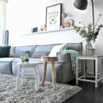 10-covor pufos gri decor living modern stil scandinav