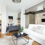 10-dormitor amenajat in perimetrul unui living mare