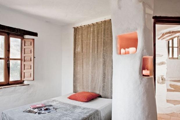 10-dormitor casa rustica din piatra andaluzia spania