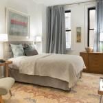 10-dormitor clasic elegant de 12 mp decorat in alb si gri