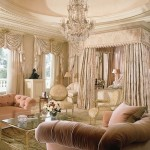 10-dormitor de lux stil baroc cu elemente decorative din ipsos pe tavan