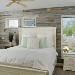 10-dormitor decorat cu placi din lemn reciclat Artis Wall