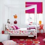 10-dormitor fetita accente cromatice roz ciclam sau fuchsia