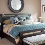 10-dormitor frumos decorat in maro bej si nuante de bleu