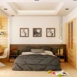 10-dormitor masculin finisat in culori luminoase cu design modern