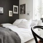 10-dormitor mic amenajat in stil scandinav in alb si gri inchis