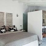 10-dormitor stil mediteranean casa din piatra Mallorca Spania
