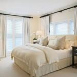 10-draperii albe decor dormitor amenajat in stil clasic