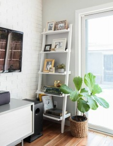 10-etajera alba din lemn decor living modern eclectic