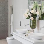 10-exemplu baie moderna pentru 2 persoane cu wc suspendat pe perete
