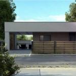 10-fata proiect casa design modern mediteranean cu garaj si suprafata locuibila de 99 mp