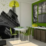 10-fototapet cu Arcul de Triumf Paris decor perete loc de luat masa