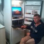 10-frigider vechi transformat in birou calculator