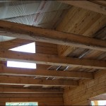 10-grinzile de sustinere planseu dintre parter si etaj mansardat casa din lemn