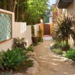 10-idee amenajare alee beton curtea din laterala casei