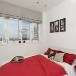 10-idee amenajare dormitor minimalist cu accente rosii in balcon