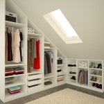 10-idee proiectare dressing in mansarda dormitor cu tavan inclinat