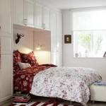 10-idei amenajare dormitor mic dulap proiectat iin jurul patului