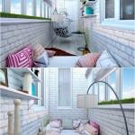 10-idei de amenajare a unui balcon mic si ingust de apartament