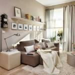 10-idei decorare perete living modern cu fotografii de familie inramate