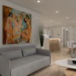 10-interior zona de living casa modulara Coodo 64