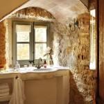 10-lavoar blat din marmura baie rustica decorata cu piatra naturala