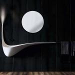 10-lavoar minimalist modern baie cu sursa iluminat integrata model wing design ldvc