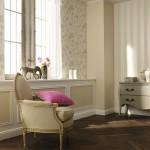 10-living clasic decorat cu mai multe tipuri de tapet ornamental