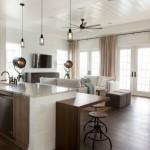 10-living cu bucatarie open space cu insula multifunctionala de bucatarie