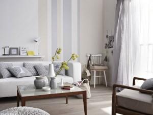 10-living modern mic decorat in alb si gri deschis