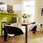 10-loc de luat masa wenge si vernil living modern