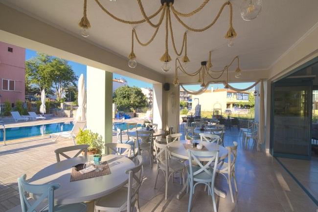 10-loc de luat micul dejun Villa Anthelion Thassos Grecia