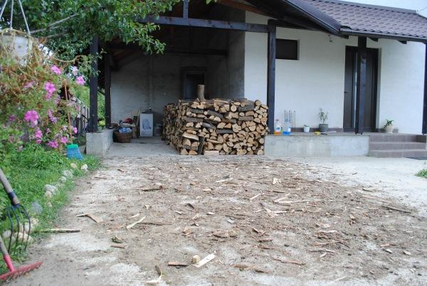 10 metri steri lemne foc