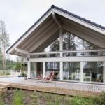 10-model casa de vis cu ferestre panoramice pe tot peretele