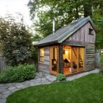 10-model casa mica din lemn cu dormitor mansardat