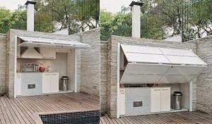 10-model de bucatarie de vara design modern cu usi rabatabile