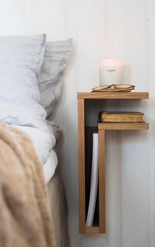 noptiera slim design modern pentru dormitor ingust