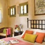 10-pat fier forjat dormitor rustic casa mica 50 mp