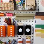 10-perete organizator rechizite si alte obiecte pentru scoala pentru camera copilului