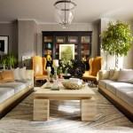 10-piesa de mobilier inchisa la culoare truc decorativ spatii lungi si inguste