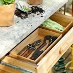 10-piesa mobilier dulap pentru depozitarea si organizarea ustensilelor de gradinarit