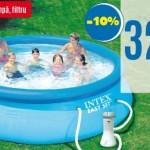10- piscina cu filtru si pompa oferta magazin Praktiker