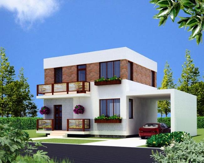 10-proiect casa moderna mica 50 mp parter si etaj