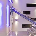 10-scara interioara minimalista structura din otel